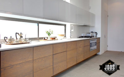 The handle-less kitchen look