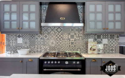 A backsplash can act as a focal point in the kitchen