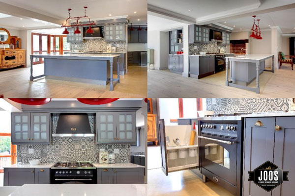 Joos Kitchens - Gastronomes delight in gorgeous geometrics and greys