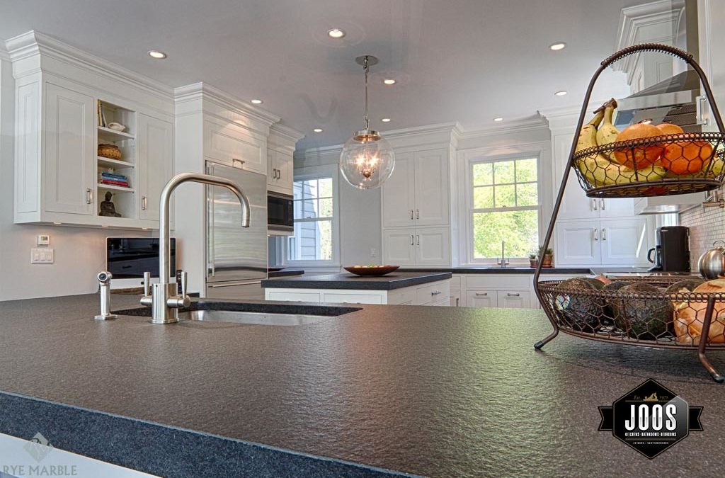 STONE COUNTERTOPS: Honed, polished or leathered finish?